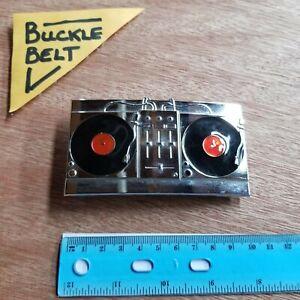 Belt Buckle RADIO PLAYER BOOMBOX Enamel metal bottle opener boucle de ceinture