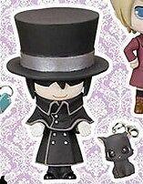 Black Butler Kuroshitsuji 2 PPP Prop Plus Petit Figurine Figure Sebastian Cat