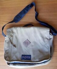 Jansport Crosstalk Messenger Laptop Bag Brown TZW1 Adjustable Shoulder Strap