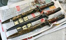 RARE Original SERBIAN MAUSER MILITARY BAYONET KNIFE DAGGER WW2 WW1 - ONE Pc