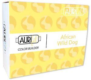 Aurifil 40wt Cotton Color Builder Thread Collection-Wild Dog Yellow