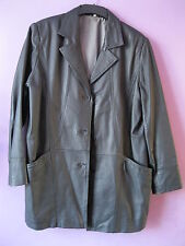 Unbranded Leather Outdoor Button Coats & Jackets for Women