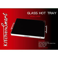 Large Glass Top Hot Tray Electric Hotplate Hot Tray Catering Warming Tray