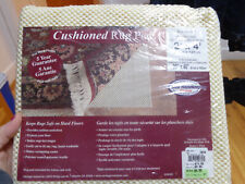 """Rug Saver Cushioned Rug Pad (fits rug size 2'x4', actual pad size 20""""x40"""")  NEW"""