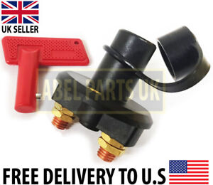 JCB PARTS -- BATTERY ISOLATOR SWITCH WITH KEY (PART NO. 701/20800, 701/20801)