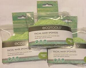 NEW EcoTools Facial Mask Sponges 3CT #7436 Lot Of 3 Vegan Cruelty Free Free Ship