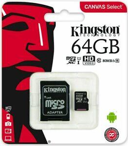 Micro SD Card SDHC SDXC Memory Card TF Class 10 16GB 32GB 64GB 128GB &SD Adapter