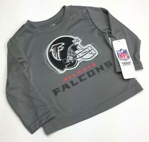 Atlanta Falcons NFL Team Apparel / Long Sleeve Sleep Shirt / Baby Toddler 12M