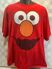 ELMO Sesame Street Large Face T-Shirt Size XL