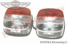 Square Front Indicator Flasher Lamp Position Light Pair Massey Ferguson