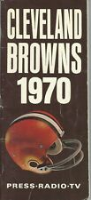 1970 Cleveland Browns Media Guide, National Football League