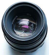 SHARP PENTAX M42 SCREW MOUNT ZENIT HELIOS-44-2 58mm f/2 SWIRLY BOKEH PRIME LENS