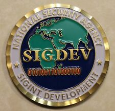 National Security Agency NSA Signals Intelligence SIGINT Director Challenge Coin