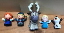 Fisher Price Little People Disney Frozen Olaf Sven Elsa Anna Kristoff 5 Figures