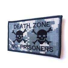 skull acu morale ucp ecwcs DEATH ZONE NO PRISONERS parche hook-and-loop patch