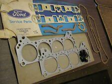 NOS OEM Ford 1968 1977 Valve Grind Gasket Set 351W Truck Bronco Torino Mustang