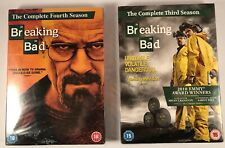 Breaking Bad - The Complete 3rd & 4th Season - New & Sealed