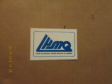 QMJHL Vintage Circa 1980's League Logo Hockey Sticker