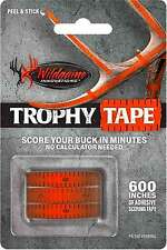 """Wildgame Innovations Trophy Tape 600"""" Adhesive Visible Scoring Tape Measure Buck"""