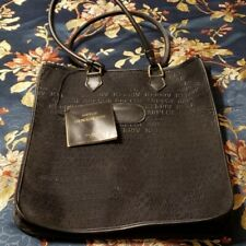 Vintage Lanvin Arpege EN Route Tote. Check out the tag this was sold at Gimbels