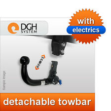 Detachable towbar (vertical) BMW E46 saloon 98/05 +13-pin universal electric kit
