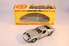 Mebetoys A 20 A20 Lamborghini Miura near mint condition in box 1:43