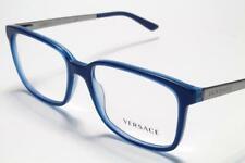 Versace VE 3182 Eyeglasses Blue Gunmetal 5081 Authentic 53mm