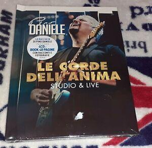 CD- BOX- PINO DANIELE- LE CORDE DELL'ANIMA- 4 CD-STUDIO E LIVE-PIU' BOOK- NUOVO