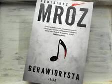 BEHAWIORYSTA -  Remigiusz Mroz - polska ksiazka, polish book