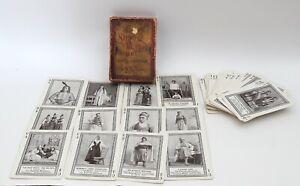Antique 1895 GAME OF STRANGE PEOPLE Complete Set-Fireside Game Co.