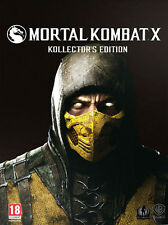 Mortal Kombat X -- Kollector's Edition (Microsoft Xbox One, 2015)