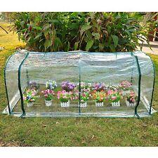Outdoor Mini 7'x3'x3' Portable Plant Flower Gardening Greenhouse Light Green