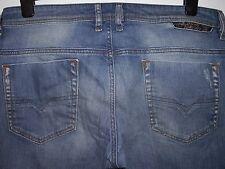 Diesel safado regular slim-straight fit jeans wash 008W7 W33 L30 (a2303)