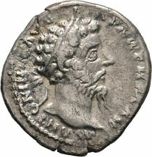 Ancient Rome MARCUS AURELIUS 161-180  AD  AR Denarius Aequitas