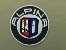 ALPINA Embroidered Iron On Automotive Patch
