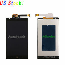 Black For Nokia Lumia 1520 LCD Display + Panel Touch Screen Digitizer Assembly