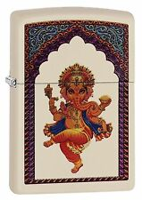 Zippo Windproof Lighter With Hindu God Ganesha, 29419, New In Box