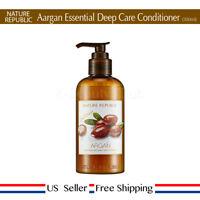 Nature Republic Argan Essential Deep Care Conditioner 300ml + Free Sample [US]