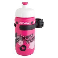 Zefal Bottle Zefal 162 12Oz W/Cage Little-Z Girl Ninja Pk