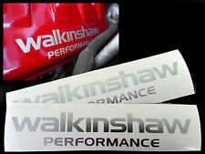 Walkinshaw Engine Decals VE HSV Engine Cover Replacements Silver In Colour
