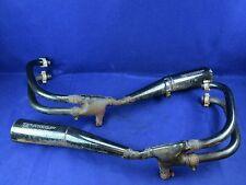 83 Suzuki GS550 ES3 Left & Right Exhaust DENT GS550ES GS 550ES3 #209 Pipe