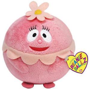 Yo Gabba Gabba FOOFA Ty Beanie Babies Ballz Plush Soft Doll for Baby Infant Toys