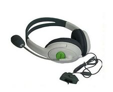 Headset for Microsoft Xbox 360 Live Online Multiplayer Gaming Games Mic Comms