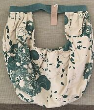 NEW WOT Authentic Diesel Women's Linen Tropical Floral Shoulder Bag