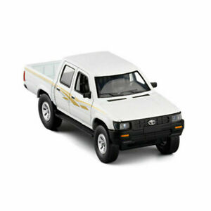 Toyota Hilux Pickup Truck 1:32 Model Car Diecast Gift Toy Vehicle Kids White hot