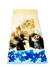 Badetuch Handtuch Katzen Mutterliebe Katze Mario Moreno  Strandtuch Neu OVP