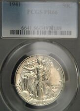 1941 Liberty Walking Half Dollar PCGS PR66 (D0450)