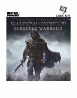 Middle-earth Shadow of Mordor - Berserks Warband Steam Pc Global