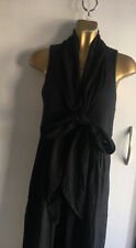 Lin'n Laundry black tie front dress size UK 10