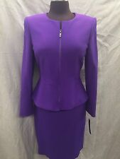 TAHARI BY ARTHUR LEVINE SET/PETITE SUIT/SIZE 14P/RETAIL$280/LINED/SKIRT LENGTH21